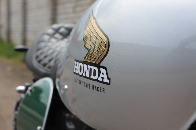 Honda XBR500 by Renard Speed Shop